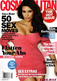Cosmopolitan focuses on personal growth, relationships and careers, with expanded reporting on fashion and beauty, health and fitness. Celebrites and pop culture are covered as well... and just about everything else young women want to know about.