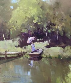 "Colley Whisson     Autumn Colours, Aust 8""x 7"" Oil"