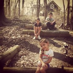 Cousins - Woods Adventure