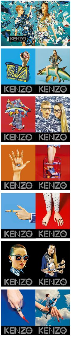 Kenzo Paris - Toilet Paper #kenzo #paris #fashion #advertising #colors #campaign #fun