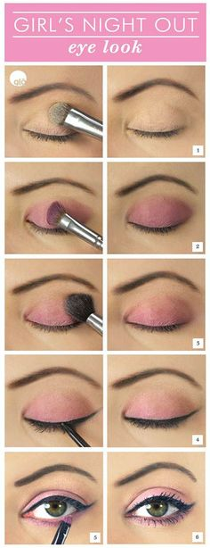 Girls Night Out Makeup Tutorial - Head over to Pampadour.com for product suggestions! Pampadour.com is a community of beauty bloggers, professionals, brands and beauty enthusiasts! #makeup #howto #tutorial #beauty #smokey #smoky #eyes #eyeshadow #cosmetics #beautiful #pretty #love #pampadour