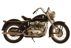 "George Pardos Collection ""Evolution of the Harley-Davidson Motorcycle"": 1952 Harley Davidson K Model"