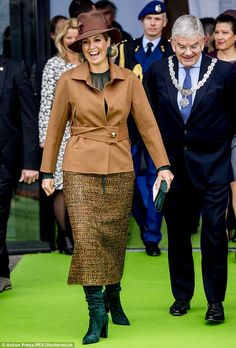 Queen Máxima attended the opening of the national education exhibition at the Jaarbeurs in Utrech