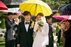 Tomorrow with you drama wedding Most Beautiful Images, Beautiful Love, Drama Korea, Korean Drama, Star Wedding, Wedding Bells, Tomorrow With You Kdrama, Lee Je Hoon, Best Kdrama
