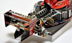 Superdetailing the Tamiya / Top Studio Ferrari F1-2000 1/20 scale. Bonus: F1-2001 OOB