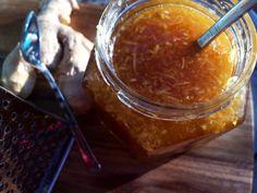 Domácí léčivý zázvorový med proti nachlazení a nevolnostem | Home-Made.Cz