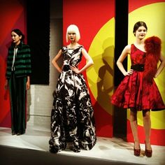 Which of these @alice_olivia looks from the F/W '12 #fashion week presentation is your favorite? #style