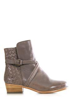 Grey Western Booties