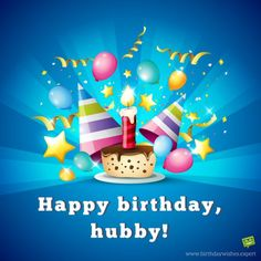 Happy Birthday, hubby!