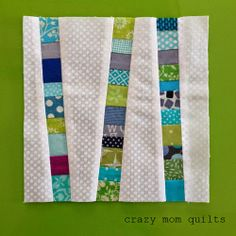 crazy mom quilts: scrappy, scrap, scrap