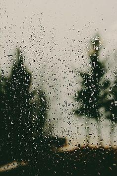 I love the rainy days