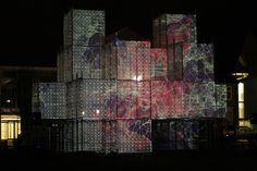 PIXEL CLOUD, una instalación del artista y arquitecto Marcos Zotes.