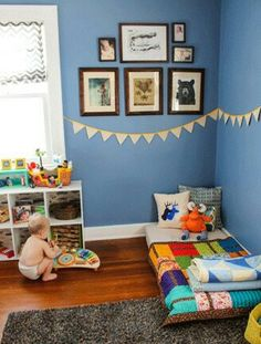 Montessori style toddlers room