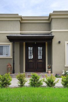 New House Exterior Ideas Porches Paint Colors 15 Ideas Exterior Colors, Exterior Paint, Exterior Design, Interior And Exterior, Style At Home, Porch Paint, Garage Door Design, Facade House, Home Fashion