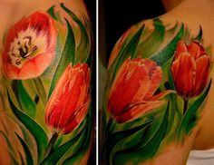 tulips tattoo