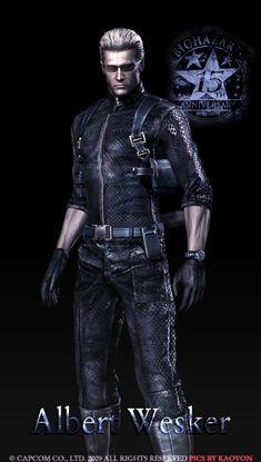Albert Wesker RE my all time favorite villain. I love this man!!!