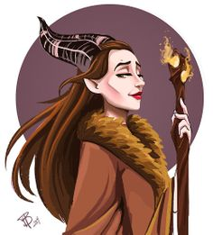 Maleficent by Brooke Hendrick