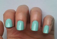 p2 who cares? #nails #mint