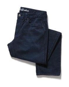 BRUNSWICK OVERDYE JEAN - SLIM - NAVY #MensWear #MensJeans