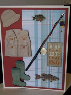 I'd Rather Be Fishing Card. $3.75, via Etsy.