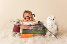 Harry potter newborn session harry potter // all things hp & baby relat New Baby Pictures, Newborn Pictures, Newborn Pics, Baby Boy Newborn, Newborn Session, Baby Boy Swag, Harry Potter, Baby Boy Birthday, Baby Time