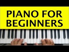 ▶ Piano Lessons for Beginners Lesson 1 How to Play Piano Easy Free Online Learning Tutorials Chords - YouTube