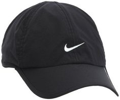 9aabf6fa08d Amazon.com   Womens Nike Featherlite 2.0 Adjustable Hat White Black  613968-100