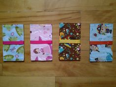 Protège carnets de santé enfants. Creations, Gift Wrapping, Gifts, Notebooks, Children, Gift Wrapping Paper, Presents, Gifs, Gift Packaging