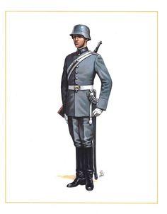 MINIATURAS MILITARES POR ALFONS CÀNOVAS: CHILE SOLDADO DE ESCUADRÓN DE CABALLERÍA  ESCOLTA , PARADA ,1945.
