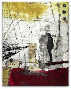 Susan Ukkola - Encaustic Image Transfer Collage