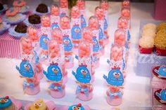 Atelier de Festas: Festa Galinha Pintadinha - Rosa