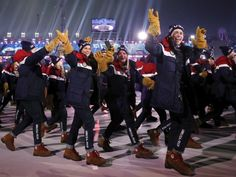 PHOTOS: Six Most Stylish 2018 Winter Olympics Uniforms              4th HUNGARY   -:)  As the 2018 Winter Olympic Games begin, uniforms at the opening ceremony give a glimpse into each nation's sense of style.