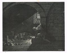 La Divine Comédie - L'enfer - illustration de Gustave Doré gravée par Monvoisin - Planche 72