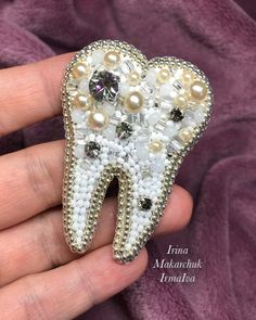 Looking for the ideal dental wall arts or dental Accessories to express yourself? Come check out our exclusive selection & find unique Dental Accessories, Dental Posters, Wall Art For Dental Office, Tooth Shaped Wall Clock and more. Beaded Brooch, Beaded Jewelry, Beaded Embroidery, Hand Embroidery, Dental Office Decor, Dental Cosmetics, Gifts For Dentist, Dental Art, Art Prints For Sale