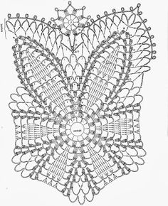 """Uncinetto e crochet: Centrotavola """"biancofiore"""" all'uncinetto crochet"""