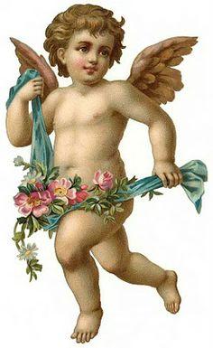 Cards Scrapbooking and Art: Vintage Angel & fairies (34)