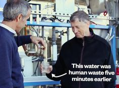 Why is Bill Gates drinking poop-water? (video) Why is Bill Gates drinking poop-water?