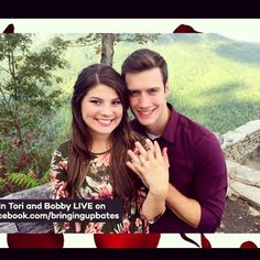 Congratulations to Tori Bates and Bobby Smith on their engagement!