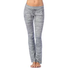 Women's PL Movement Sweaterknit Lounge Pant ($33) ❤ liked on Polyvore featuring pants, grey, relaxed fit pants, grey trousers, gray pants, pink lotus pants and pink lotus