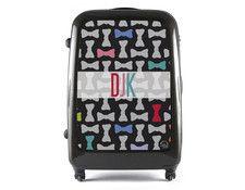 black luggage -monogram -bows