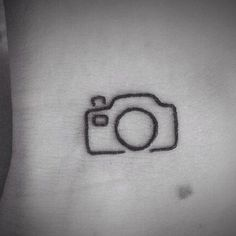 Tiny Camera Tattoo