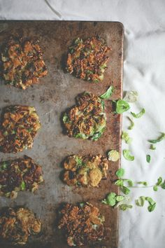 RECIPE: BRUSSELS SPROUT LATKES WITH BALSAMIC DIJON SOUR CREAM