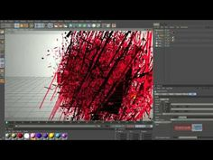 Cinema 4D Text Tutorial Particles Transition YouTube - YouTube