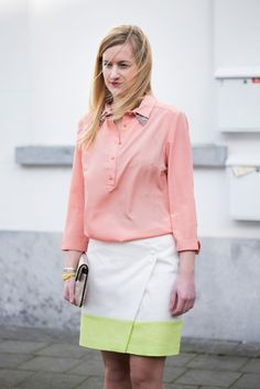 Leandra skirt by La Maison Victor