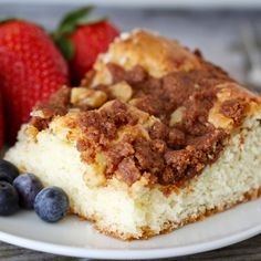 Cinnamon Sour Cream Coffee Cake from McCormick.com