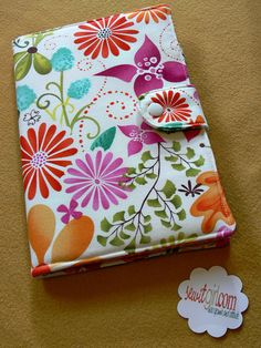 Nook Color/Tablet, E-reader cover, Book Style, Kindle, Kindle fire, Forest Floor in Bloom Terrain by Kate Spain $40