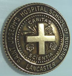 St. Joseph Hospital SON pin, Lancaster, PA