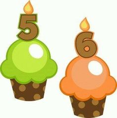 Silhouette Design Store - View Design birthday cupcakes 5 and 6 Breast Cancer Crafts, Cupcake Illustration, Birthday Clips, Cupcake Collection, Diy And Crafts, Paper Crafts, Silhouette Online Store, Birthday Scrapbook, Birthday Cupcakes