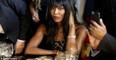 Leyenda de la moda Naomi Campbell también bailó con los Stones en La Habana