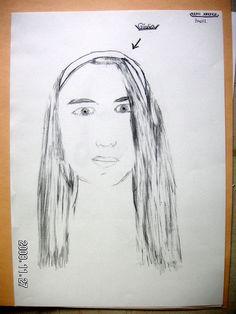 10ème Portrait 9ème  Crayon